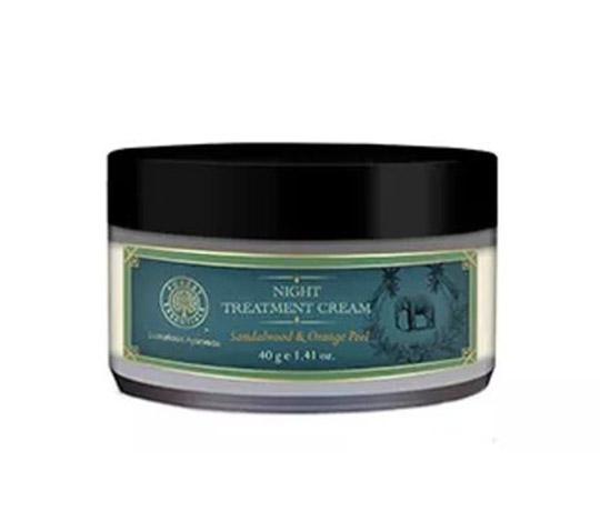 Forest Essentials Men Sandalwood & Orange Peel Night Treatment Cream
