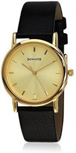 Sonata NF7987YL01J Men's Watch