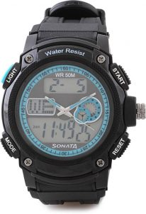 Sonata NH7989PP01J Men's Watch