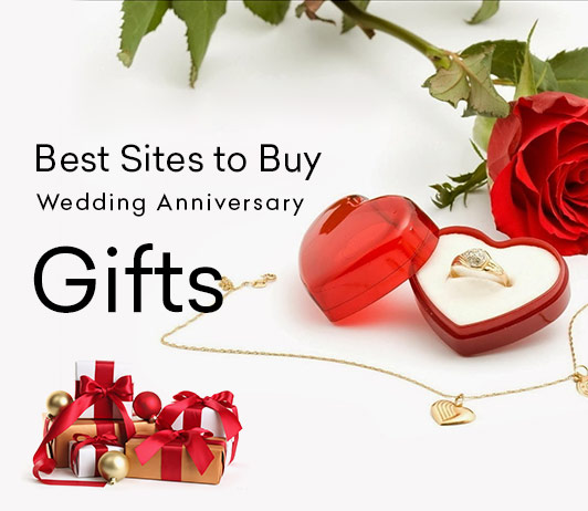 Best Sites To Buy Wedding Anniversary Gifts