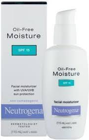Neutrogena Oil-Free Moisturiser SPF 15