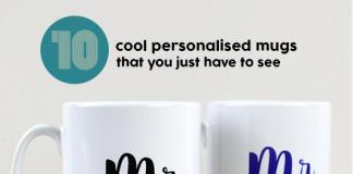 Cool personalised mugs