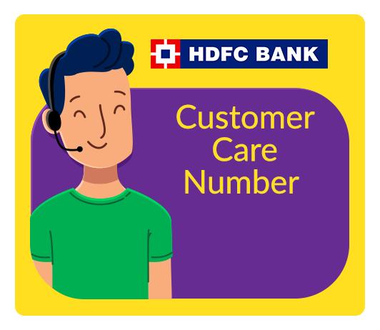 hdfc bank customer care complaint no