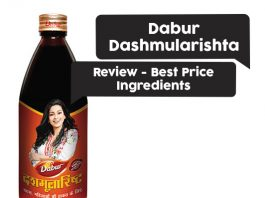 Dabur Dashmularishta Review, Best Price, Ingredients
