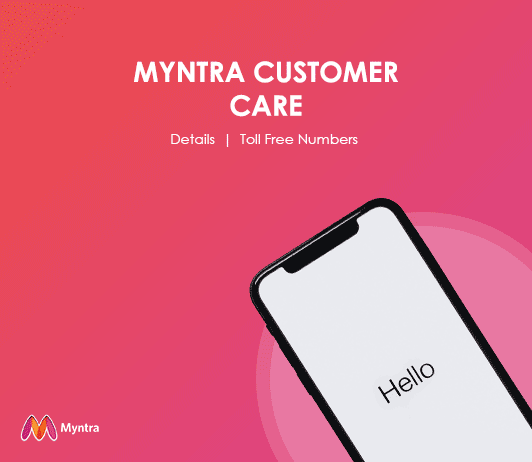 Myntra Customer Care Numbers