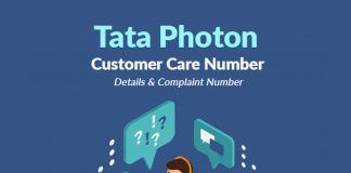 tata photon customer care number