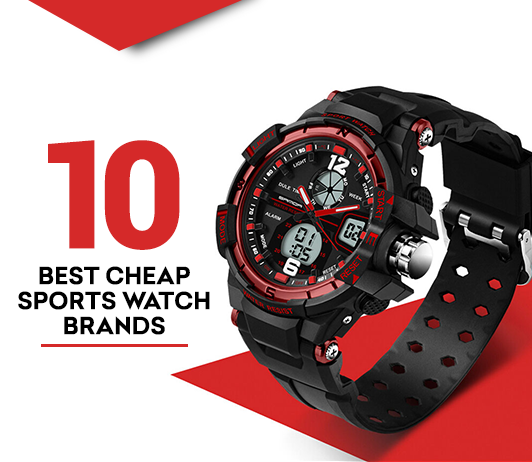 10 Best Cheap Sports Watch Brands- Complete Guide with Price Range