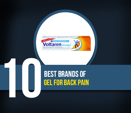 10 Best brands of Gel For Back Pain- Complete Guide With Price Range