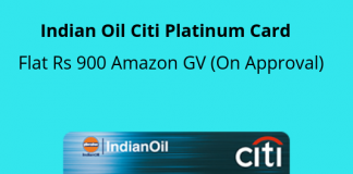 Amazon Gift Voucher On Citibank Credit Card