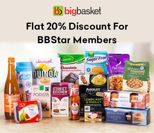 BigBasket BBStar HDFC Offer