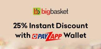 BigBasket PayZapp Offer
