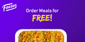 Faasos Free Meals