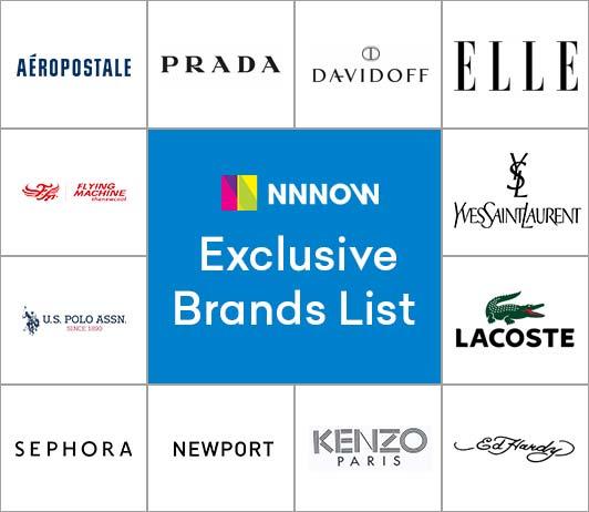 NNNow's Exclusive Brands List