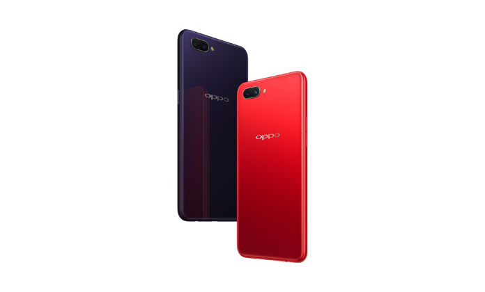 OPPO A3s in red color
