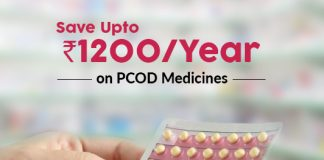 Save Up To Rs.1200 On PCOD Medicines