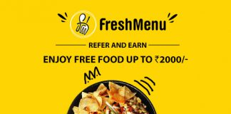 FreshMenu Refer & Earn: Enjoy Free Food Up To Rs. 2000/-