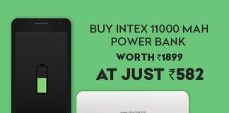 Intex 11000 mAh Power Bank