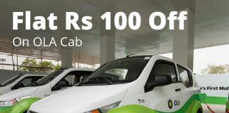 Ola Cab Coupon Code
