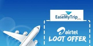 easemytrip airtel offer discount