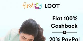 firstcry loot 100 percent cashback womens day 2019