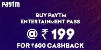 paytm entertainment pass