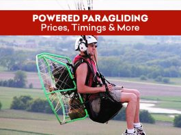 Powered Paragliding - Prices, Timings & More
