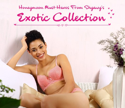 Honeymoon must have from Shyaway's collection