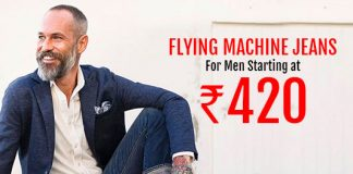 Flying Machine Jeans For Men Starting @Rs. 420