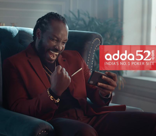 Adda52 Partners With Chris Gayle For A Campaign