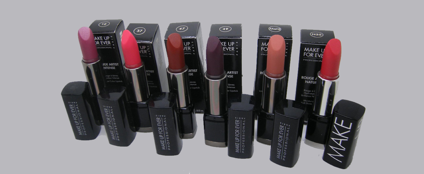 Makeup Forever Lipcolors