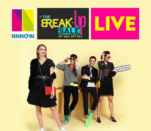 NNNOW Break-Up Sale