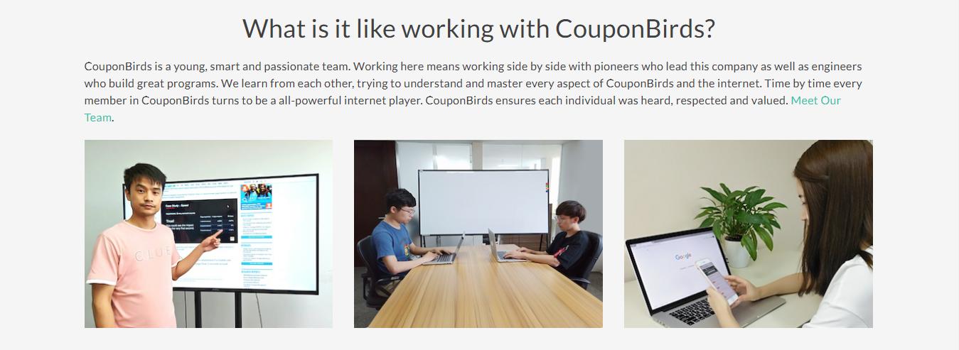 CouponBirds Company