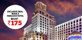 Exclusive Deal: Book A Fabulous Hotel @Just Rs.175