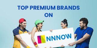 Top Premium brands on NNNOW