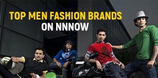Top Men fashion brands on NNNOW