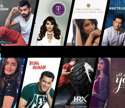 myntra coupons for celebrity brands