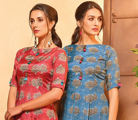 Ethnic wear on Ajio