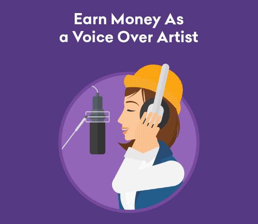 Earn Money as a voice over artist