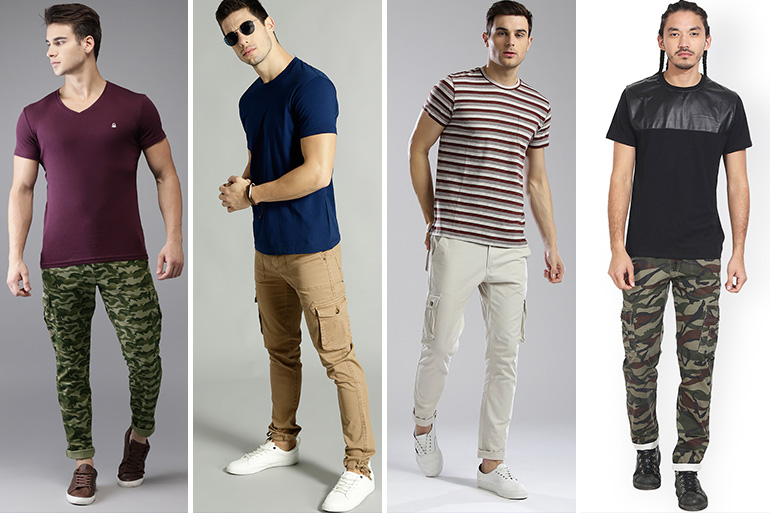 88d92690 Top 8 Branded Cargo Pants in India: Trending List of 2019 – The Good ...