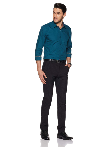 Teal Blue Party Shirt