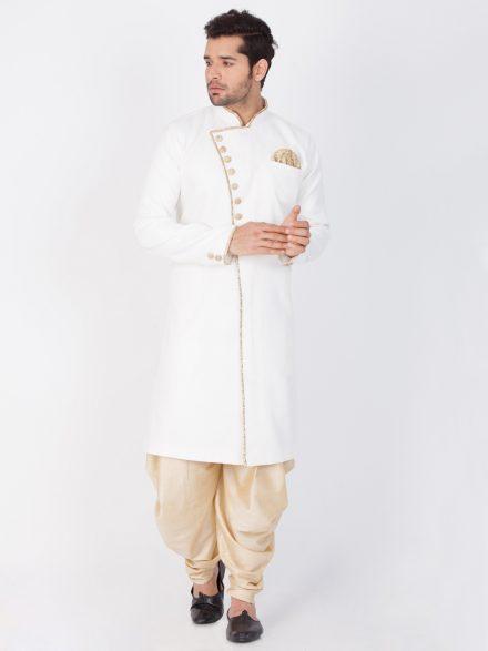 Sherwani With Dhoti Pants