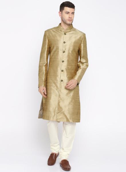 Classic Gold Sherwani