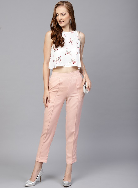 Cigarette Style Trousers