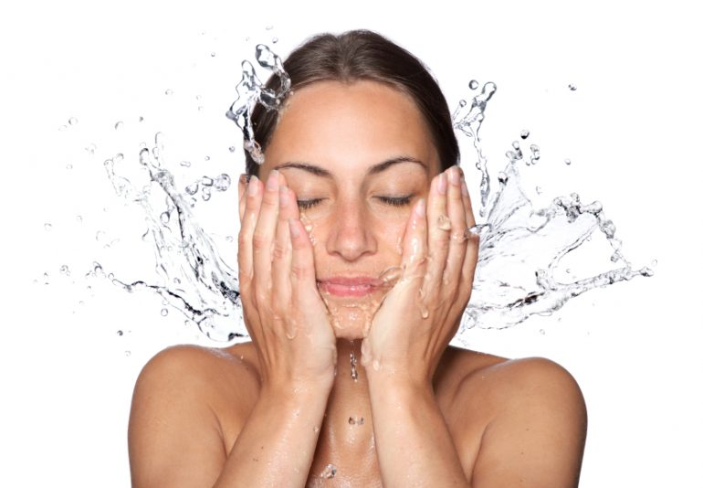 Image result for face wash woman