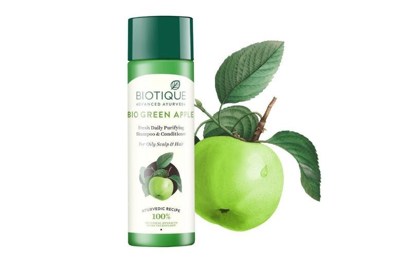 Biotique Bio Green Apple Fresh Daily Purifying Shampoo Review