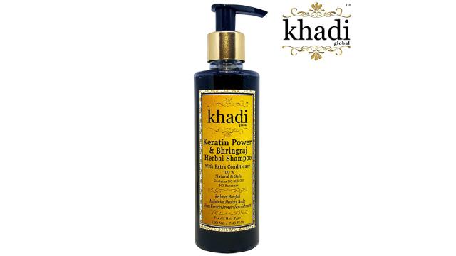 Khadi Global Keratin Power and Bhringraj Herbal Hair Shampoo
