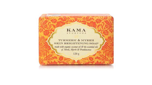 Kama Ayurveda Turmeric And Myrrh Skin Brightening Soap