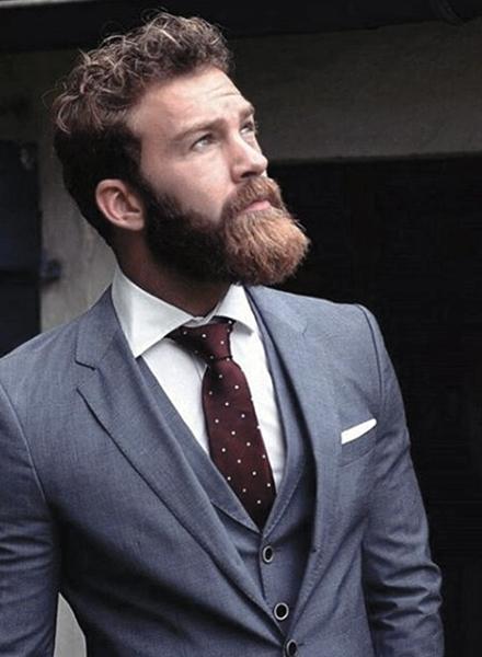 Short Patchy Beard