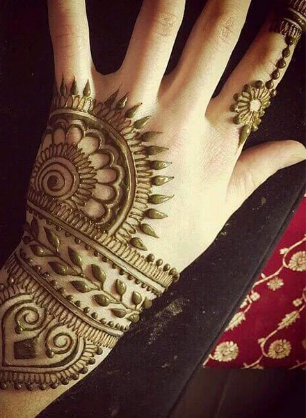 50 Simple & Easy Arabic Mehndi Designs | 2019 Best Collection – The