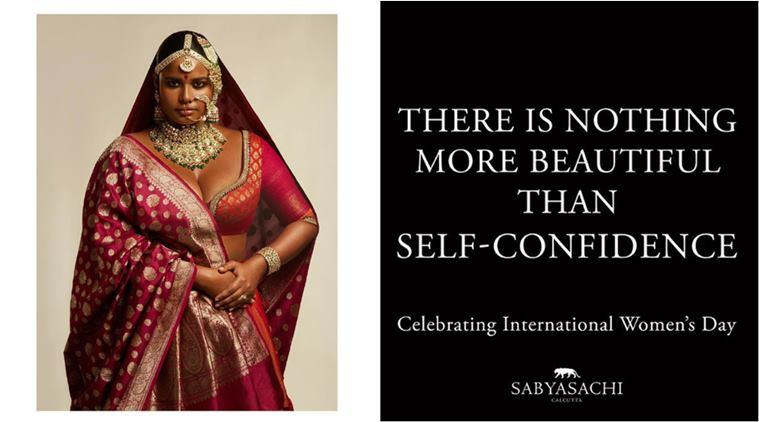 Sabyasachi Women's Day Instagram